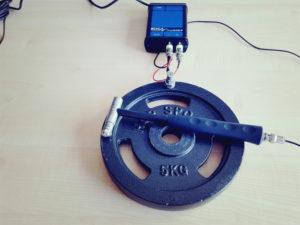 Impulshammer Messung